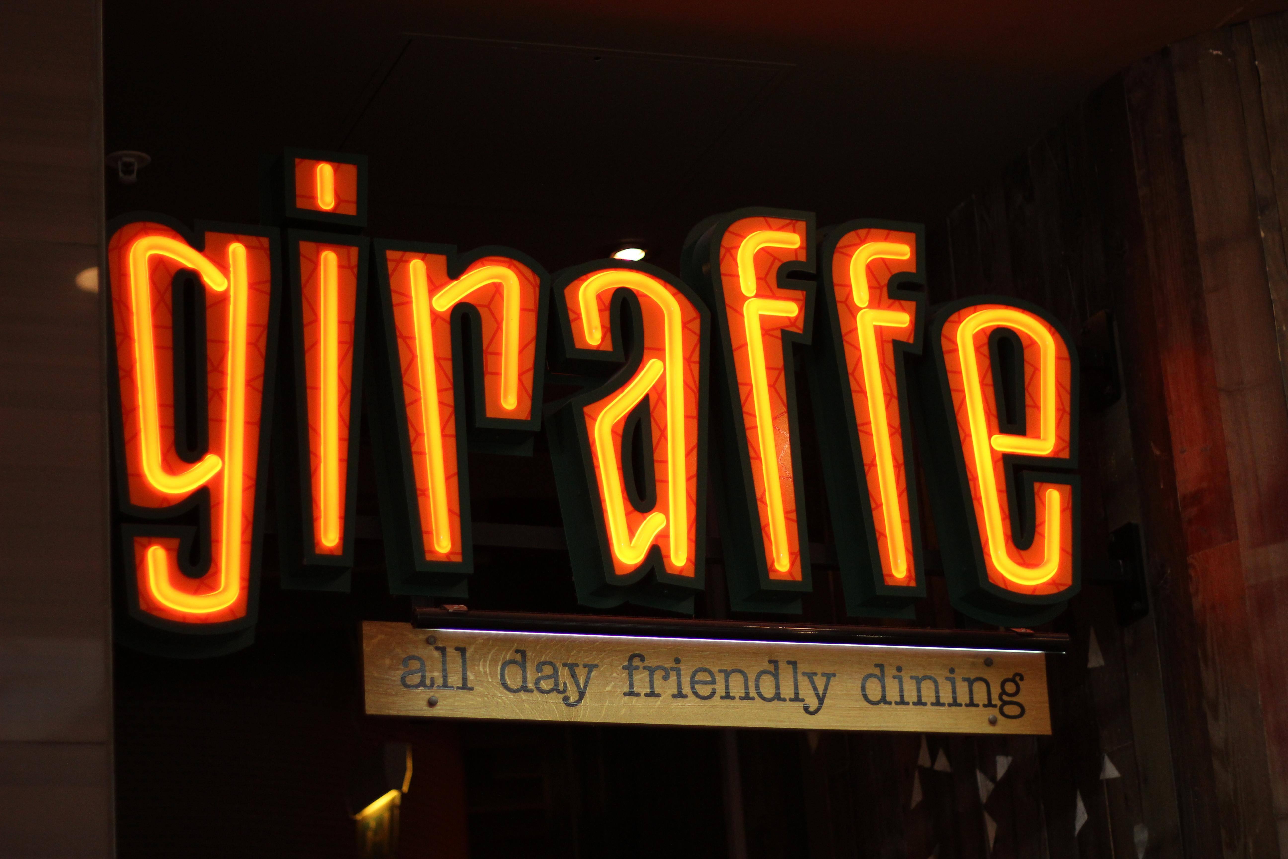 Giraffe Aberdeen