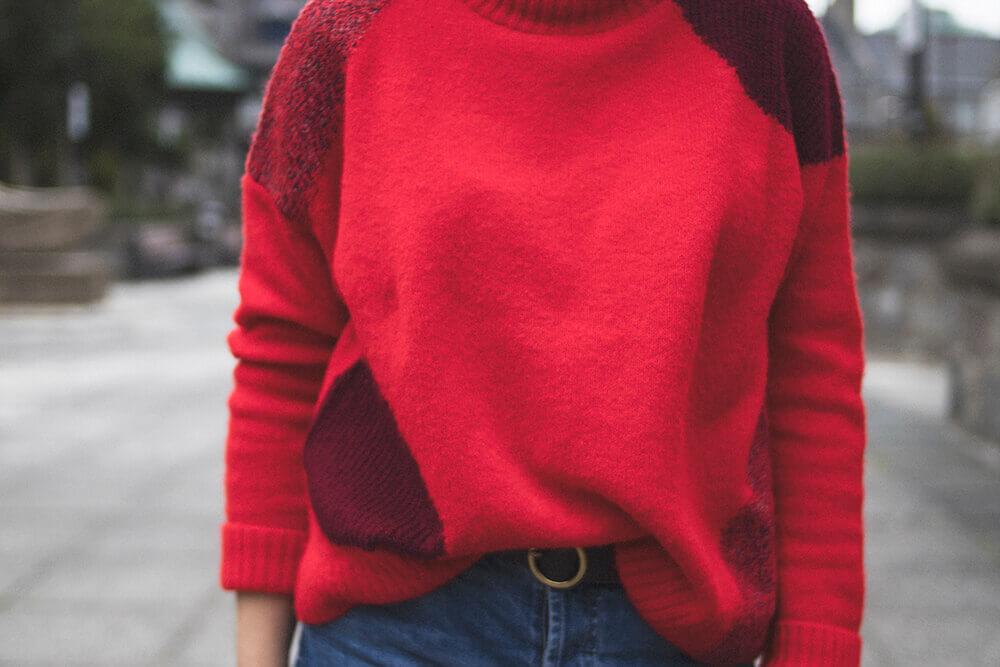 Primark Jumper, Topshop Jeans, Urban Outfitters Belt