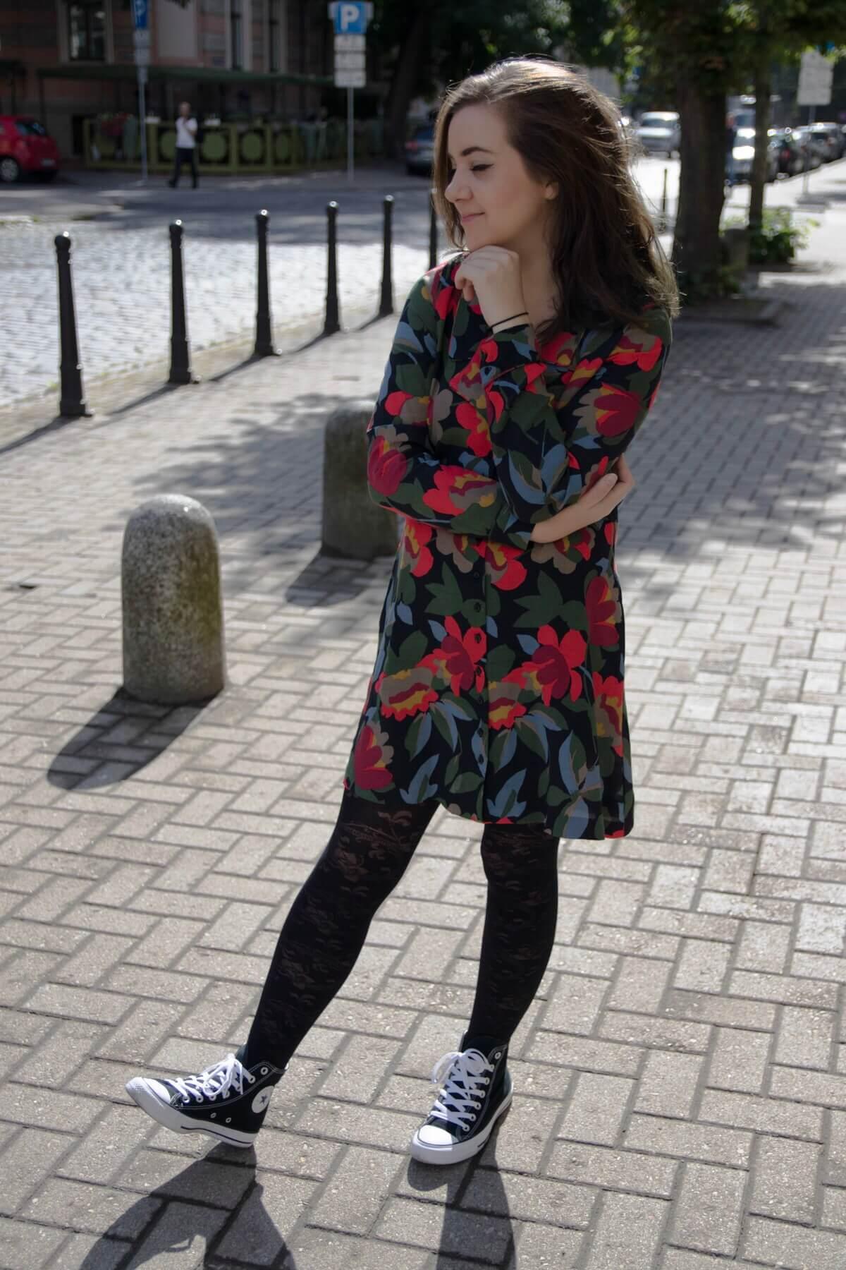 Zara Floral Dress 2017