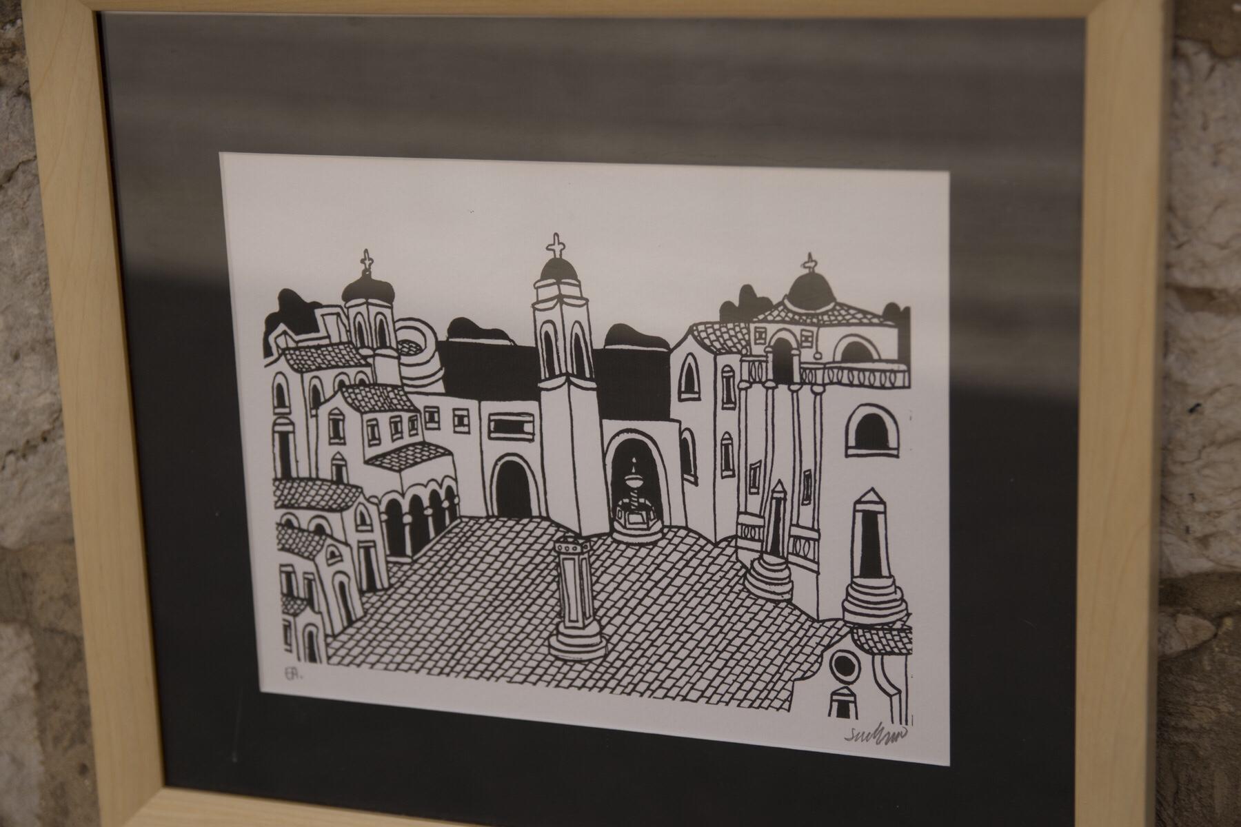 Art print of Dubrovnik