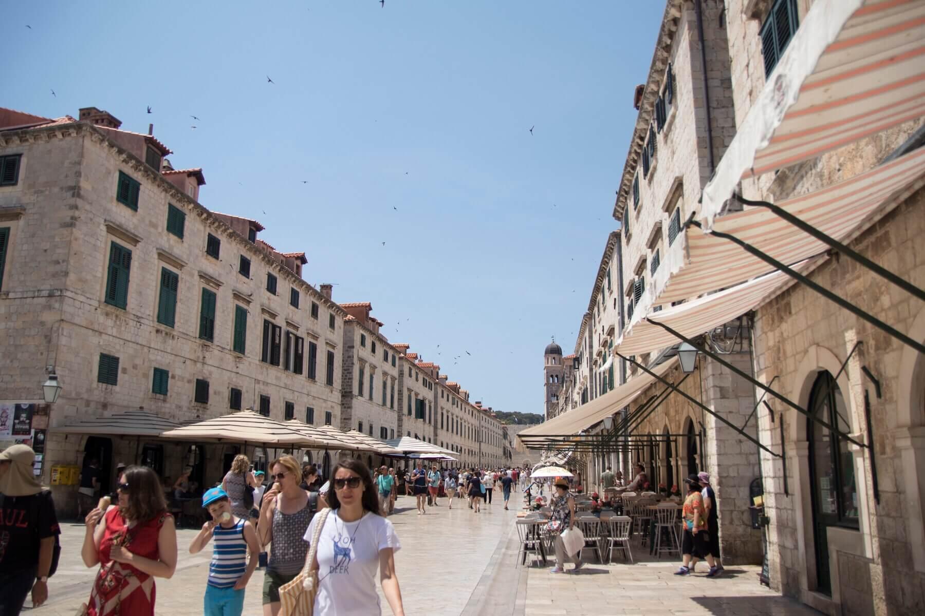 Stradun old town Dubrovnik