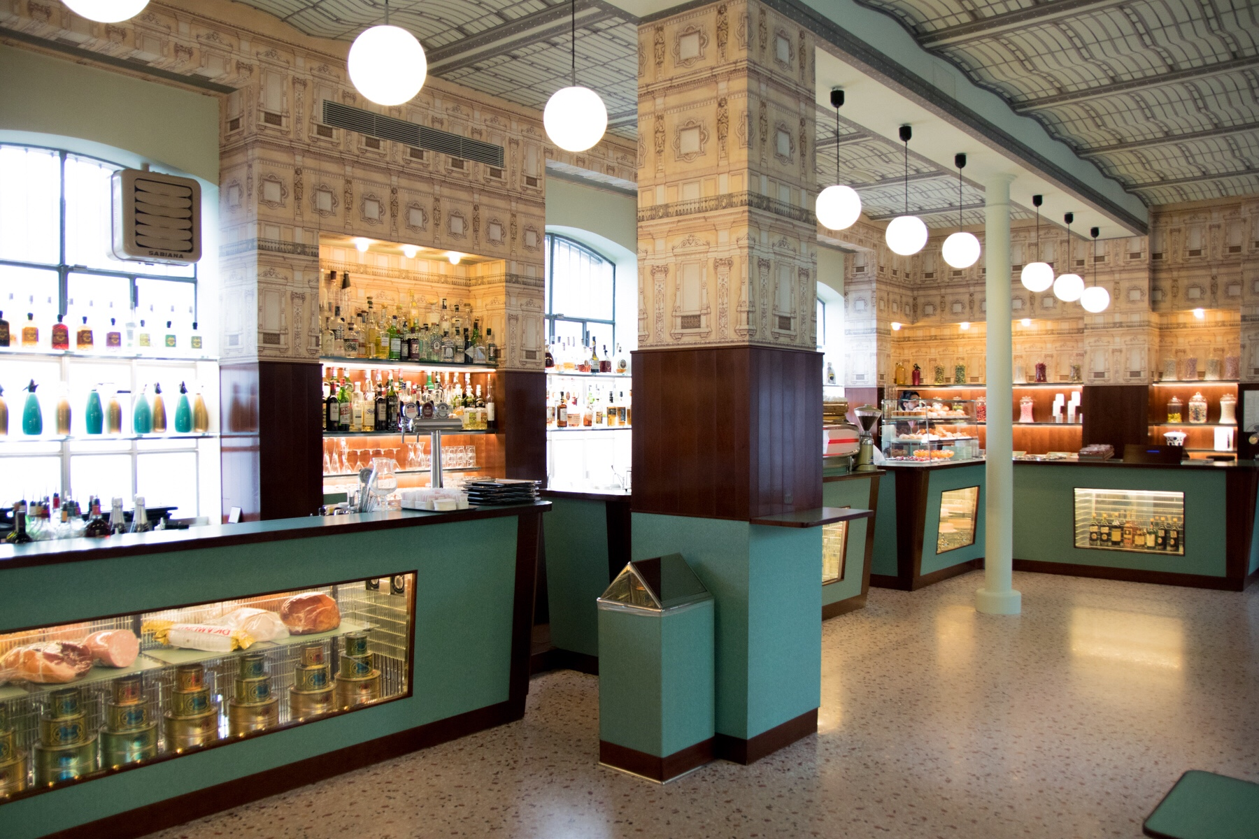 Bar Luce Wes Anderson Interior